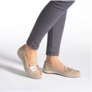 【德亚直邮】Geox 健乐士 YUKI A 女鞋圆头浅口休闲舒适单鞋