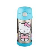 【美亚直邮】Thermos 膳魔师 Hello Kitty 儿童不锈钢保温杯 350ml