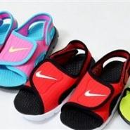【55海淘节】Nike 耐克 Sunray Adjust 4大童款魔术贴凉鞋 特价2268日元(约140元),可参加满减