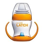 【美亚直邮】Munchkin 满趣健 Latch 宝宝过渡防漏奶瓶杯学饮杯 125ml