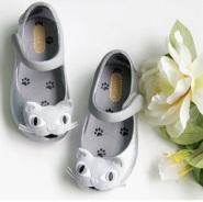 【中亚Prime会员】小七同款:Mini Melissa 梅丽莎 儿童款猫咪果冻鞋 到手价244元