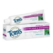 【美亚自营】Tom's of Maine 薄荷味美白无氟牙膏 156g*2只装 预防牙菌斑