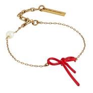 【美亚直邮】Marc Jacobs 女士蝴蝶结元素手链