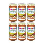 【德亚自营】Hipp 喜宝 蔬菜烩饭 250g*6瓶装