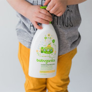 【中亚Prime会员】Babyganics 甘尼克宝贝 无香型宝贝日用保湿乳 502ml*2瓶装