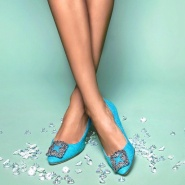 无需凑单!Bergdorf Goodman:精选 Manolo Blahnik 鞋履 全线低至6折!