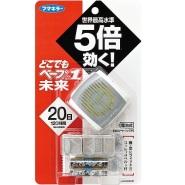 额外8.5折!Vape 未来 5倍便携驱蚊手表+替换装 新低711日元(约44元)