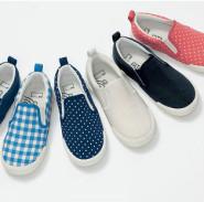 5折!Belle Maison 千趣会 大童帆布懒人鞋 1242日元(约75元)