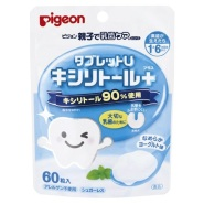 Pigeon 贝亲 幼儿乳牙 安抚护齿糖 60片装 341日元(约19元)