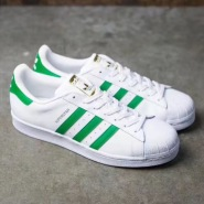 大脚福利!adidas 阿迪达斯 Superstar 金标贝壳头大童款运动鞋 成人可穿
