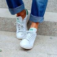 免费直邮||Adidas 阿迪达斯 Stan Smith 经典绿尾小白鞋 401元