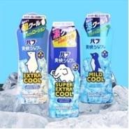 夏日人气第一位:KAO 花王COOL冰爽沐浴薄荷露 大象款超冰爽