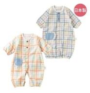 日本制:Mapleland 麦宝莲 和风 针织棉 宝宝两穿连体衣50~60cm