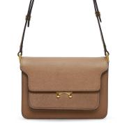 最后一只!Marni Brown Small Trunk Bag 棕色小款包包 $1456(约10345元)