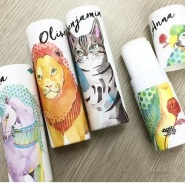FITS ×Rola 日本名模 Rola 合作香水品牌:Vasilisa 动物图案 花草草本固体香水 1600日元起(约96元)