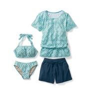 Belle Maison 千趣会 夏季泳衣4件套 4762日元(约285元)