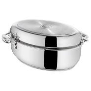 【德亚直邮】Tefal 特福 Jamie Oliver 大厨系列 不锈钢带盖炖锅 8.4L