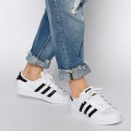 【免费直邮中国!】Adidas Originals 三叶草 superstar 女士金标贝壳头运动鞋