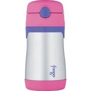 史低价!【美亚自营】Thermos 膳魔师 不锈钢保温杯 300ml 粉色+蓝色