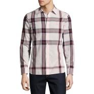 Burberry 经典格纹男士衬衫 $177(约1282元)