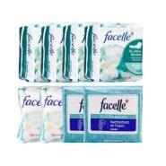 【55专享】包邮包税!Facelle 菲思乐 日用+夜用卫生巾套装