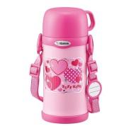 【中亚Prime会员】Zojirushi 象印 不锈钢儿童保温杯 带杯盖 600ml SC-MC60-PA