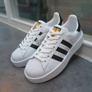 【免费直邮中国!】adidas Originals 三叶草 SUPERSTAR BOLD 女士休闲运动鞋