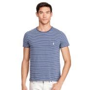 【无门槛额外7折!】Ralph Lauren 拉夫劳伦 男士纯棉条纹T恤衫 多色选