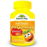 【55专享】好价!Nature's Way  Kids Smart 佳思敏 儿童维生素C+锌软糖 60粒 AU