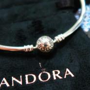 【迷糊5姐晒单】买完串珠才想起来买 Pandora 圆头925银手镯
