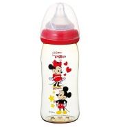 【中亚Prime会员】Pigeon 贝亲 母乳实感哺乳奶瓶 塑料制品 米奇米妮图案240ml 到手价113元