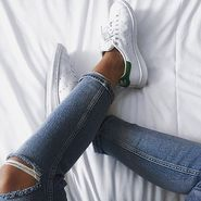 """5姐已狂买7双小绿尾!FinishLine :精选 Adidas Originals""""Stan Smith""""运动鞋 低至$39.99+最高额外满减$15"""