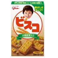 Glico 固力果 小麦胚芽乳酸营养夹心饼 15枚×10盒 977日元(约59元)
