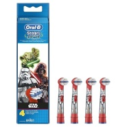 【德亚自营】Oral-B Stages Power 星战系列 儿童电动牙刷刷头4支装