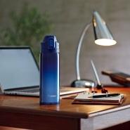 【中亚Prime会员】ZOJIRUSHI 象印 不锈钢保温杯 一触式开启 0.82L 渐变蓝色 SD-ES08-AZ 到手价183元