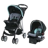 【美亚直邮】Graco 葛莱 LiteRider 系列 轻便型婴儿手推车+摇篮椅
