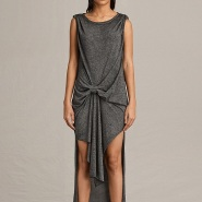 Allsaints 前短后长 棉质背心裙 £68(约593元)