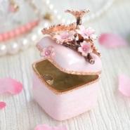 【中亚Prime会员】 PIEARTH 戒指盒 小枝樱(白色) EX452-1 到手价144元