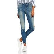 【德亚直邮】Calvin Klein 卡尔文克莱恩 纯棉女士高腰牛仔裤