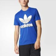 【白菜价 凑单品!】adidas  三叶草 Trefoil 男士短袖T恤