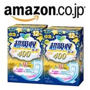 日本亚马逊:花王 2连包卫生巾,额外8.5折+定期购再额外9折