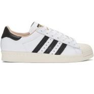 adidas Originals White Superstar 80s Sneakers 女款小白鞋
