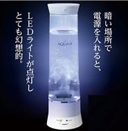 【亚马逊海外购】促进新陈代谢、抗氧化:DOSHISHA 同志社 水素水制作器 附净水功能 AQUA-H 白色 到手价706元