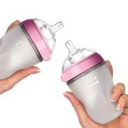 近期好价!【中亚Prime会员】Comotomo 可么多么奶瓶 250ml 粉色 两支装