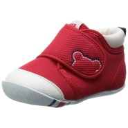 【Prime Day】中亚Prime会员:MikiHouse First Shoes 婴儿学步鞋 红色/12.5 到手价438元