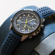 【55专享】Citizen西铁城 Blue Angels 蓝天使系列 光动能男款手表 AT8020-03L