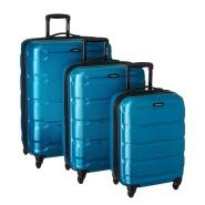 【中亚Prime会员】Samsonite 新秀丽 Omni PC 硬壳黑色行李箱拉杆箱3件套 20+24+28寸 深蓝色