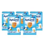 德国直邮!Aptamil 爱他美婴幼儿奶粉 1+ 600g*5盒
