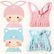 【中亚Prime会员】MARNA 超细竹炭纤维干发儿童帽 到手价114元