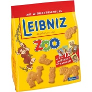 德国直邮!Leibniz 莱布尼兹动物园饼干 125g